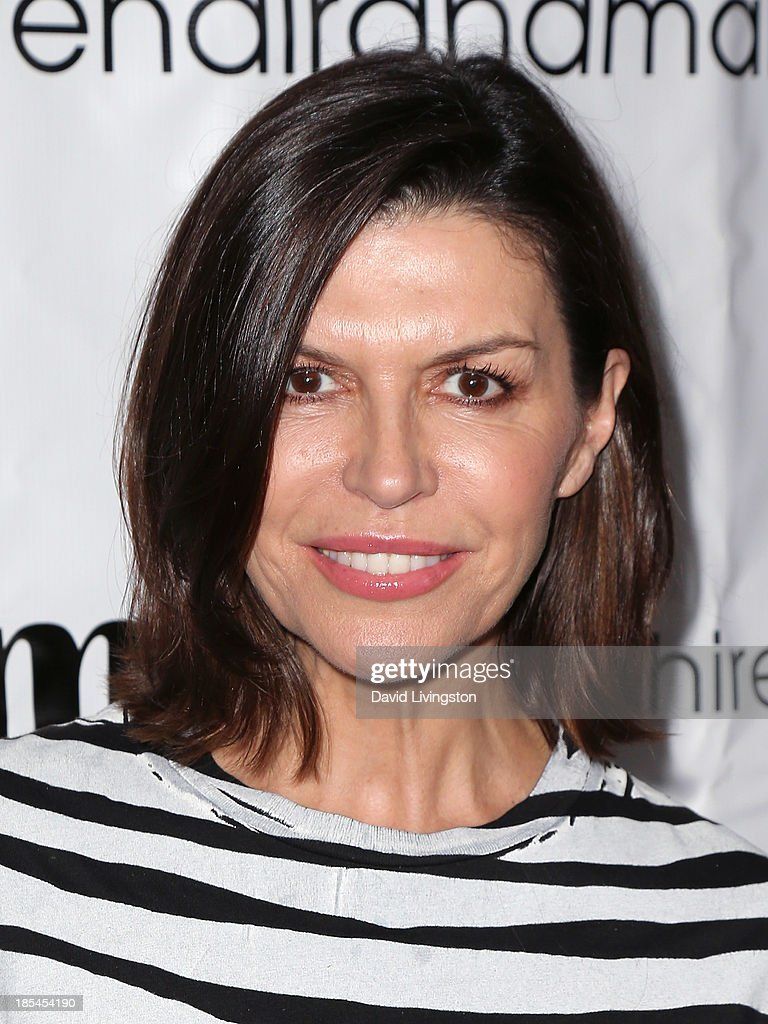 Actress <a gi-track='captionPersonalityLinkClicked' href=/galleries/search?phrase=Finola+Hughes&family=editorial&specificpeople=206161 ng-click='$event.stopPropagation()'>Finola Hughes</a> attends the 9th Annual LA Femme International Film Festival Awards Gala and Show at the Renberg Theatre on October 20, 2013 in Los Angeles, California.