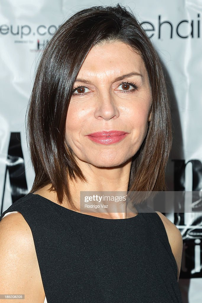 Actress <a gi-track='captionPersonalityLinkClicked' href=/galleries/search?phrase=Finola+Hughes&family=editorial&specificpeople=206161 ng-click='$event.stopPropagation()'>Finola Hughes</a> attends the 9th Annual La Femme International Film Festival opening night gala premiere 'Psycho Circus' at The Renberg Theatre on October 17, 2013 in Los Angeles, California.