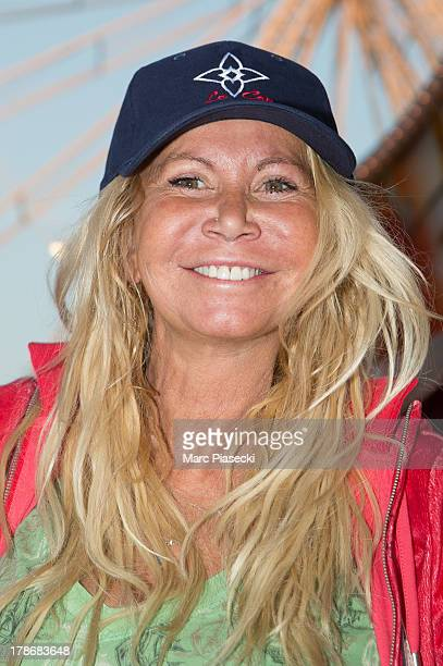 Actress Fiona Gelin attends the 'Fete A Neu Neu' 30th anniversary on August 30 2013 in Paris France
