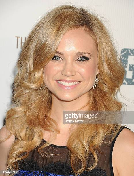 Actress Fiona Gubelmann arrives at the Series Premiere Of FX's 'The Bridge' at DGA Theater on July 8 2013 in Los Angeles California