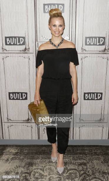 Actress Fiona Gubelmann attends Build to discuss 'Daytime Divas' at Build Studio on May 31 2017 in New York City