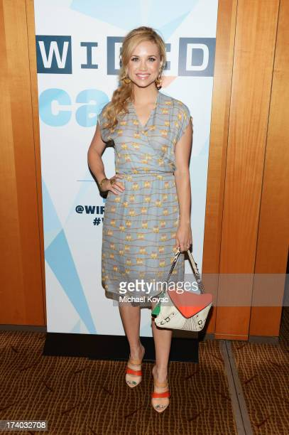 Actress Fiona Gubelmann attends day 2 of the WIRED Cafe at ComicCon on July 19 2013 in San Diego California