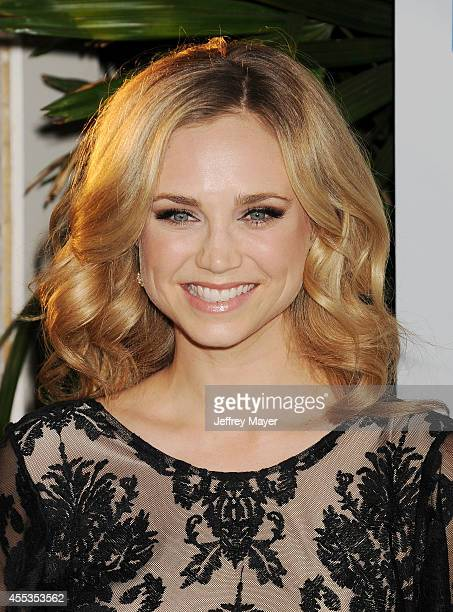 Actress Fiona Gubelmann attends Mercy For Animals 15th Anniversary Gala at The London on September 12 2014 in West Hollywood California