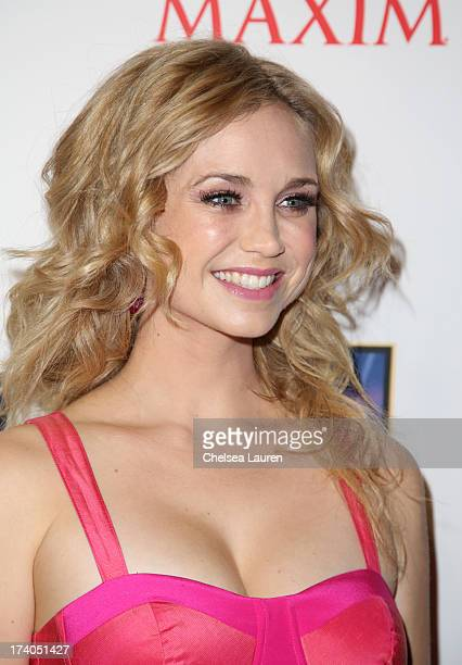 Actress Fiona Gubelmann attends the Maxim FX and Home Entertainment ComicCon Party on July 19 2013 in San Diego California