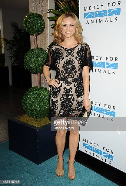 Actress Fiona Gubelmann attends the Mercy For Animals 15th anniversary gala at The London on September 12 2014 in West Hollywood California