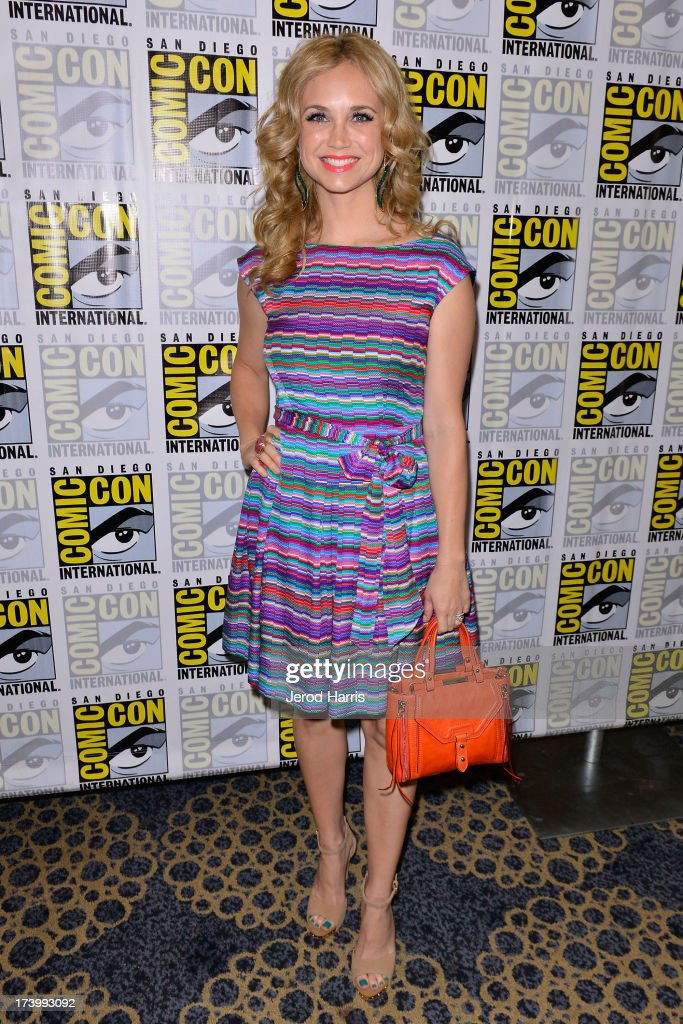 Actress Fiona Gubelmann attends the 'Wilfred' screening and Q&A - Comic-Con International 2013 at Hilton San Diego Bayfront Hotel on July 18, 2013 in San Diego, California.