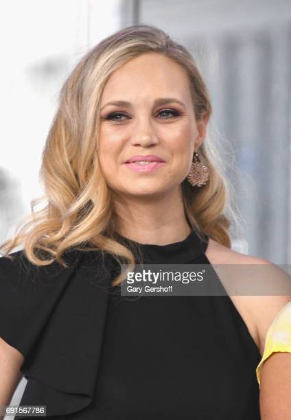 Actress Fiona Gubelmann of 'Daytime Divas' attends the NASDAQ opening bell at NASDAQ on June 2 2017 in New York City