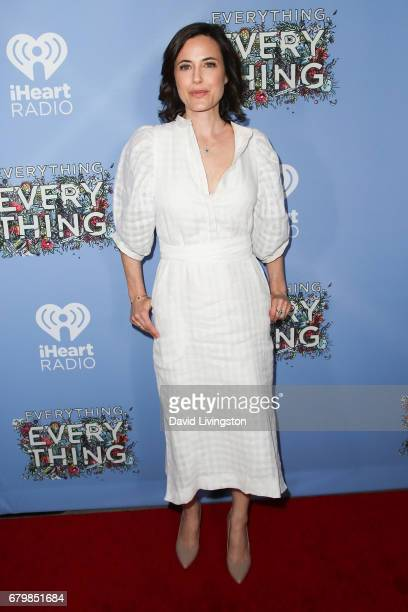 Actress Fiona Loewi attends the screening of Warner Bros Pictures' 'Everything Everything' at the TCL Chinese Theatre on May 6 2017 in Hollywood...