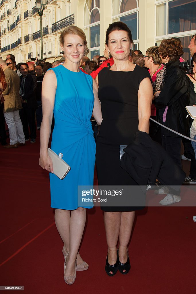 Actress Fleur Lise Heuet and director Anne Fassio attend the 26th Cabourg Romantic Film Festival on June 15, 2012 in Cabourg, France.