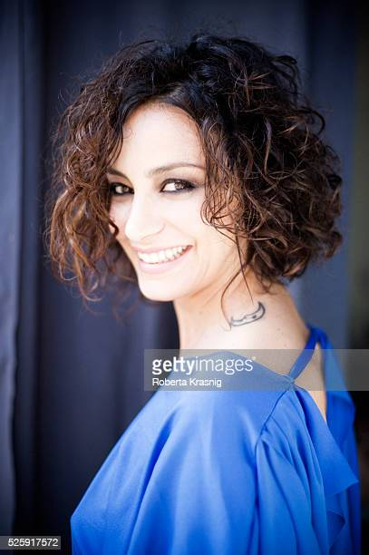 Actress Flora Canto is photographed for Self Assignment on June 08 2012 in Rome Italy