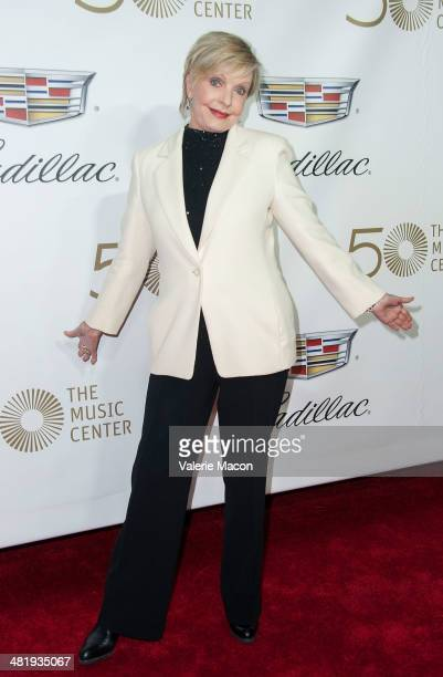 Actress Florance Henderson arrives at The Music Center's 50th Anniversary Launch Party at Dorothy Chandler Pavilion on April 1 2014 in Los Angeles...