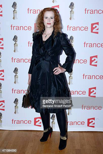 Actress Florence Darel attends the 27th 'Nuit Des Molieres' 2015 Held at Folies Bergere on April 27 2015 in Paris France