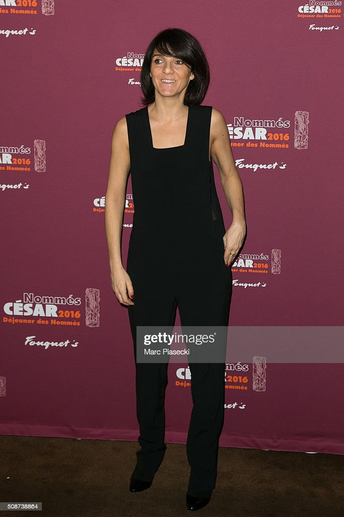 Actress <a gi-track='captionPersonalityLinkClicked' href=/galleries/search?phrase=Florence+Foresti&family=editorial&specificpeople=4946831 ng-click='$event.stopPropagation()'>Florence Foresti</a> attends the 'Cesar 2016- Nominee luncheon' at Le Fouquet's on February 6, 2016 in Paris, France.