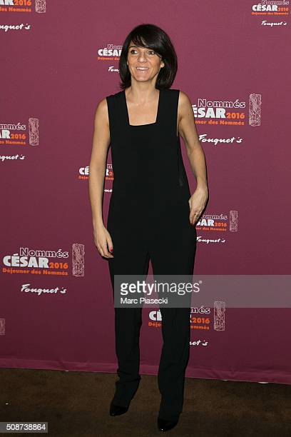Actress Florence Foresti attends the 'Cesar 2016 Nominee luncheon' at Le Fouquet's on February 6 2016 in Paris France
