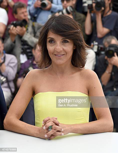 Actress Florence Foresti attends the 'Little Prince' Photocall during the 68th annual Cannes Film Festival on May 22 2015 in Cannes France