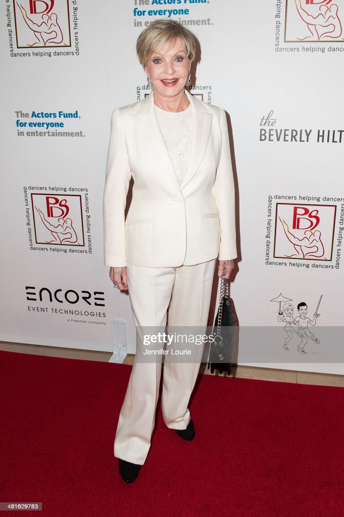 Actress Florence Henderson arrives at the Professional Dancers Society's 27th Annual Gypsy Award Luncheon hosted at The Beverly Hilton Hotel on March 30, 2014 in Beverly Hills, California.