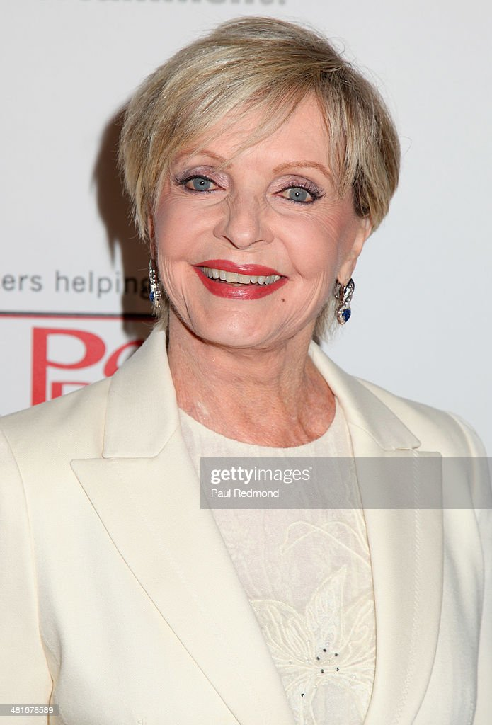 Actress Florence Henderson attending the Professional Dancers Society's 27th Annual Gypsy Award Luncheon at The Beverly Hilton Hotel on March 30, 2014 in Beverly Hills, California.