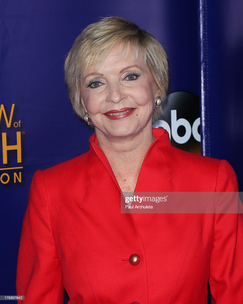 Actress <a gi-track='captionPersonalityLinkClicked' href=/galleries/search?phrase=Florence+Henderson&family=editorial&specificpeople=171392 ng-click='$event.stopPropagation()'>Florence Henderson</a> attends the Muscular Dystrophy Association's 48th annual MDA Show Of Strength telethon day 2 at CBS Studios on August 1, 2013 in Los Angeles, California.
