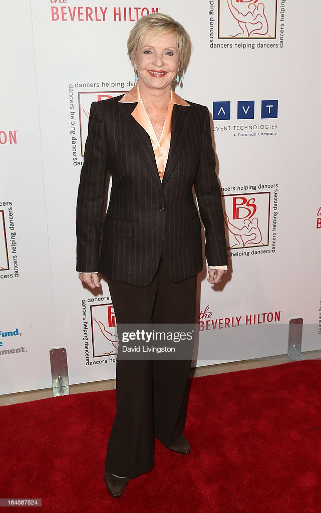 Actress Florence Henderson attends the Professional Dancers Society's Gypsy Awards Luncheon at The Beverly Hilton Hotel on March 24, 2013 in Beverly Hills, California.