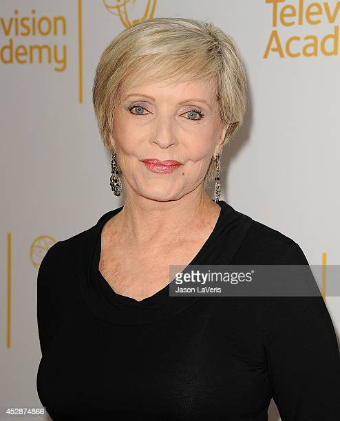 Actress Florence Henderson attends the Television Academy's performers peer group celebrating the 66th Emmy Awards at Montage Beverly Hills on July...
