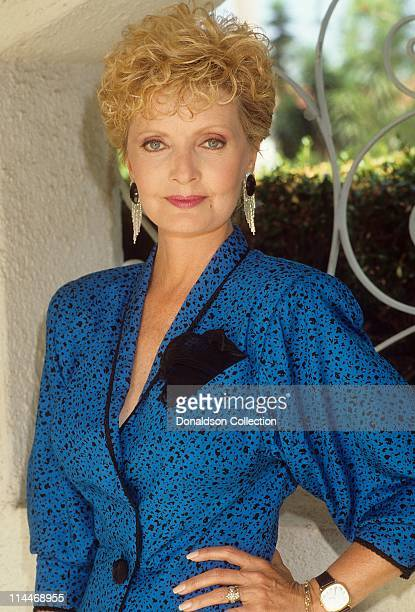 Actress Florence Henderson poses for a portrait in July 1990 in Los Angeles California