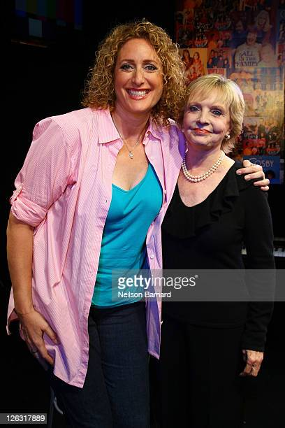 Actress Florence Henderson visits Judy Gold's 'The Judy Show My Life As A Sitcom' at the DR2 Theater on September 24 2011 in New York City