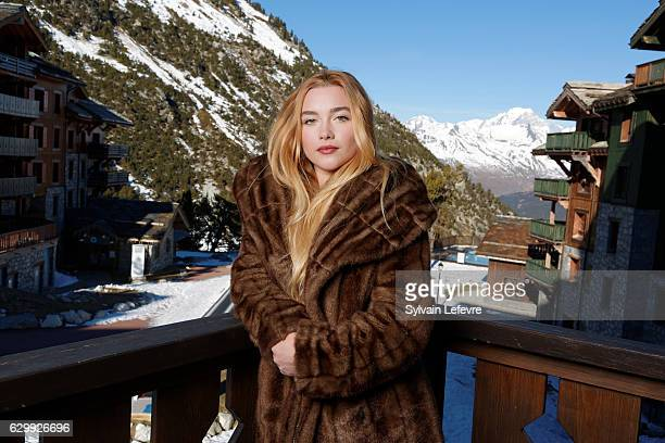 Actress Florence Pugh attends Les Arcs European Film Festival on December 15 2016 in Les Arcs France