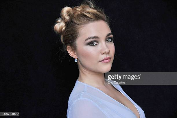 Actress Florence Pugh is photographed for Self Assignment on September 20 2016 in San Sebastian Spain