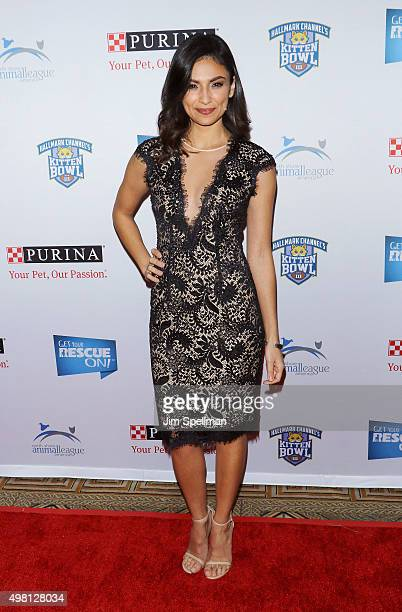 Actress Floriana Lima attends the 2015 North Shore Animal League America Gala at The Pierre Hotel on November 20 2015 in New York City
