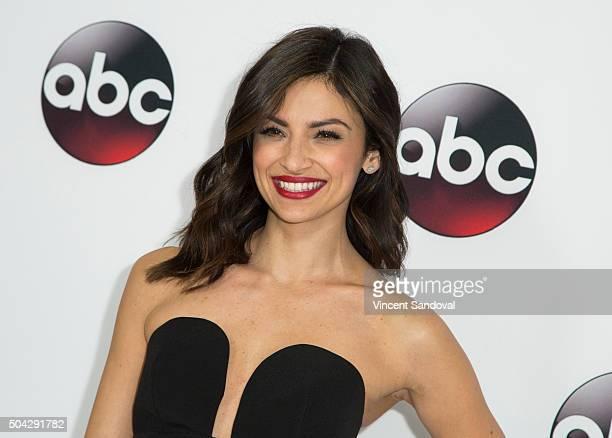 Actress Floriana Lima attends the 2016 Winter TCA Tour Disney/ABC at Langham Hotel on January 9 2016 in Pasadena California