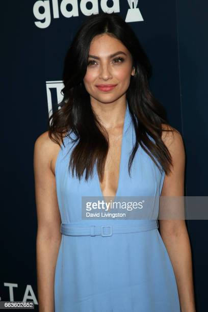 Actress Floriana Lima attends the 28th Annual GLAAD Media Awards at The Beverly Hilton Hotel on April 1 2017 in Beverly Hills California