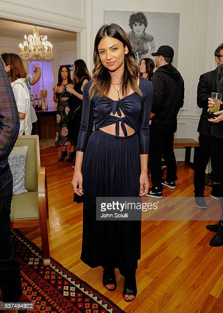 Actress Floriana Lima attends The Art of Elysium and The Macallan's Men In The Arts The Work of Brandon Boyd on June 1 2016 in Los Angeles California