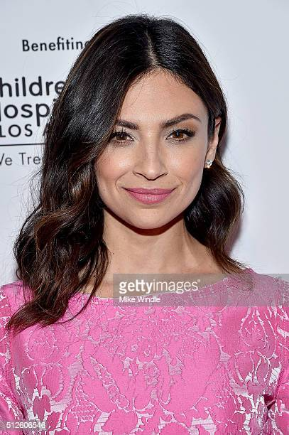 Actress Floriana Lima attends Vanity Fair L'Oreal Paris Hailee Steinfeld host DJ Night at Palihouse Holloway on February 26 2016 in West Hollywood...