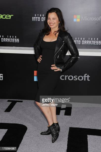 Actress Fran Drescher arrives at the Los Angeles premiere of 'Star Trek Into Darkness' at Dolby Theatre on May 14 2013 in Hollywood California