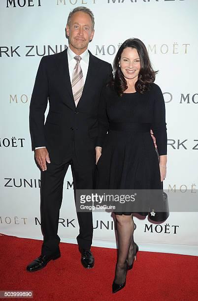 Actress Fran Drescher arrives at the Mark Zunino Atelier Opening at Mark Zunino Atelier on January 7 2016 in Beverly Hills California