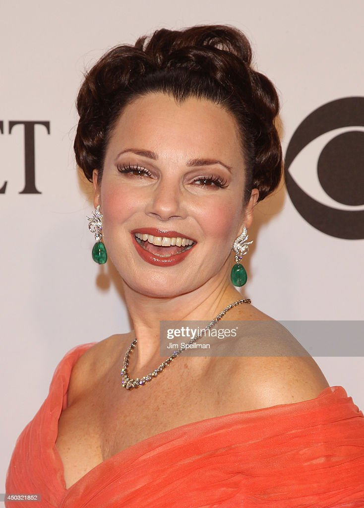 Actress <a gi-track='captionPersonalityLinkClicked' href=/galleries/search?phrase=Fran+Drescher&family=editorial&specificpeople=201602 ng-click='$event.stopPropagation()'>Fran Drescher</a> attends American Theatre Wing's 68th Annual Tony Awards at Radio City Music Hall on June 8, 2014 in New York City.