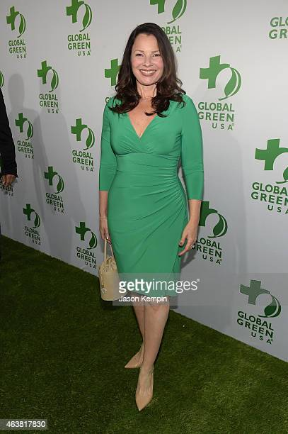 Actress Fran Drescher attends Global Green USA's 12th annual preOscar party at AVALON Hollywood on February 18 2015 in Hollywood California