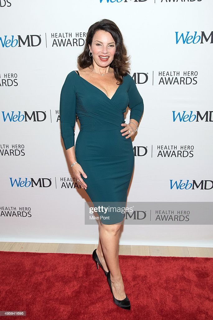 Actress Fran Drescher attends the 2015 Health Hero Awards at The Times Center on November 5 2015 in New York City