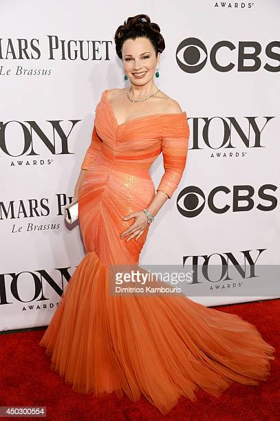 Actress Fran Drescher attends the 68th Annual Tony Awards at Radio City Music Hall on June 8 2014 in New York City
