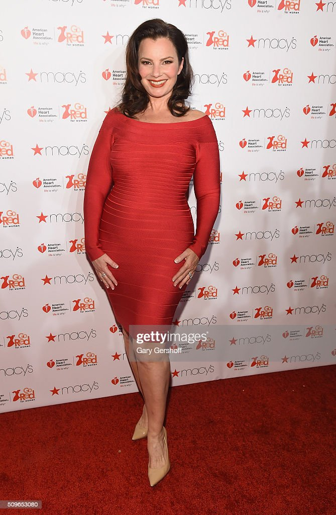 Actress <a gi-track='captionPersonalityLinkClicked' href=/galleries/search?phrase=Fran+Drescher&family=editorial&specificpeople=201602 ng-click='$event.stopPropagation()'>Fran Drescher</a> attends The American Heart Association's Go Red for Women Dress Collection 2016 at Skylight at Moynihan Station on February 11, 2016 in New York City.