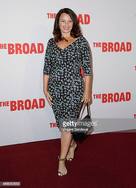 Actress Fran Drescher attends The Broad Museum's Inaugural Celebration at The Broad on September 18 2015 in Los Angeles California