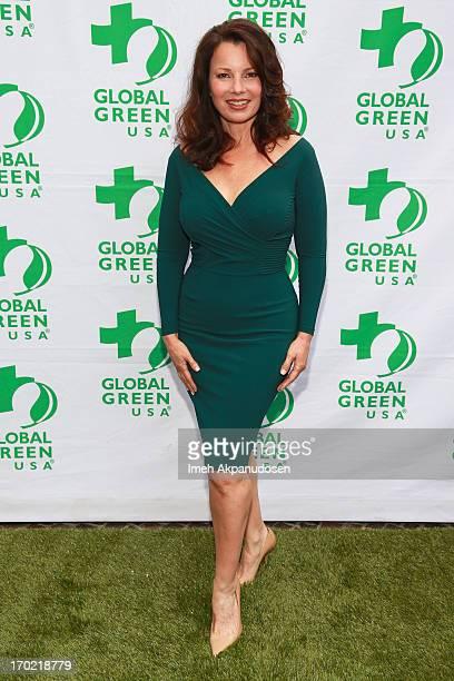 Actress Fran Drescher attends the Global Green USA's Annual Millennium Awards at Fairmont Miramar Hotel on June 8 2013 in Santa Monica California