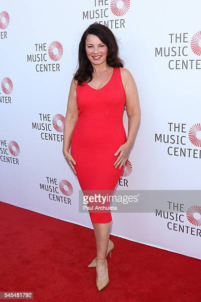 Actress Fran Drescher attends the Music Center's Summer Soiree at The Music Center Plaza on July 7 2016 in Los Angeles California