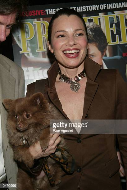 Actress Fran Drescher attends the Premiere Magazine party during the 2003 Toronto International Film Festival at Prego September 7 2003 in Toronto...