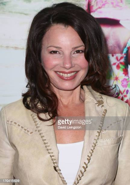 Actress Fran Drescher attends the premiere of 'Unacceptable Levels' at ArcLight Cinemas on June 12 2013 in Hollywood California