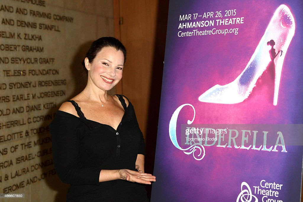 Actress Fran Drescher attends the 'Rodgers Hammerstein's Cinderella' photo op held at the Ahmanson Theatre on March 17 2015 in Los Angeles California