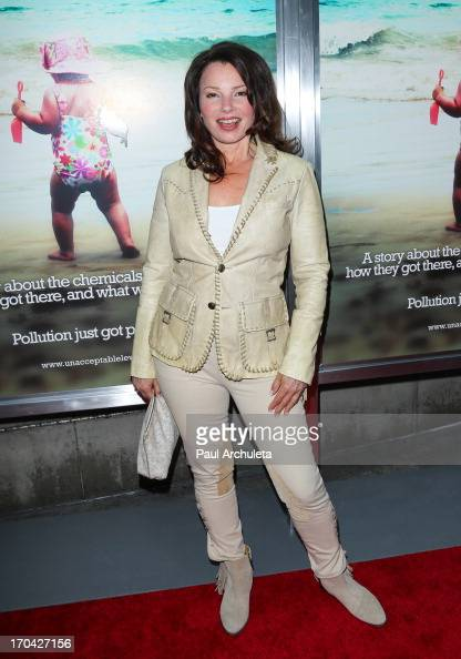 Actress Fran Drescher attends the 'Unacceptable Levels' premiere at the ArcLight Cinemas on June 12 2013 in Hollywood California