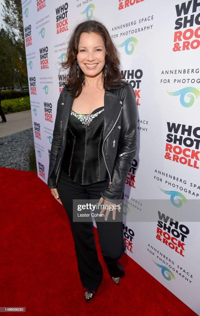 Actress Fran Drescher attends the Who Shot Rock & Roll Opening Night VIP Reception at the Annenberg Space For Photography on June 21, 2012 in Century City, California.