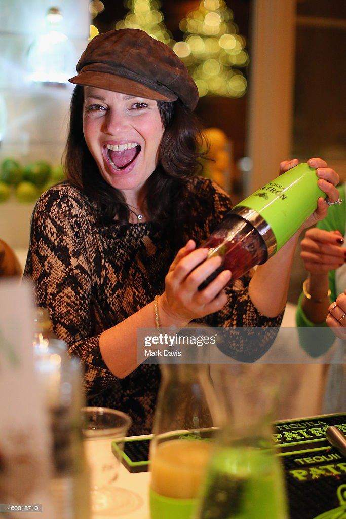 Actress <a gi-track='captionPersonalityLinkClicked' href=/galleries/search?phrase=Fran+Drescher&family=editorial&specificpeople=201602 ng-click='$event.stopPropagation()'>Fran Drescher</a> makes a Patron mojito during the Deer Valley Celebrity Skifest held at the Silver Lake Lodge in Deer Valley on December 5, 2014 in Park City, Utah
