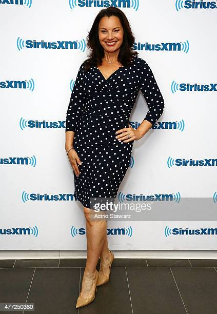 Actress Fran Drescher visits the SiriusXM Studios on June 15 2015 in New York City